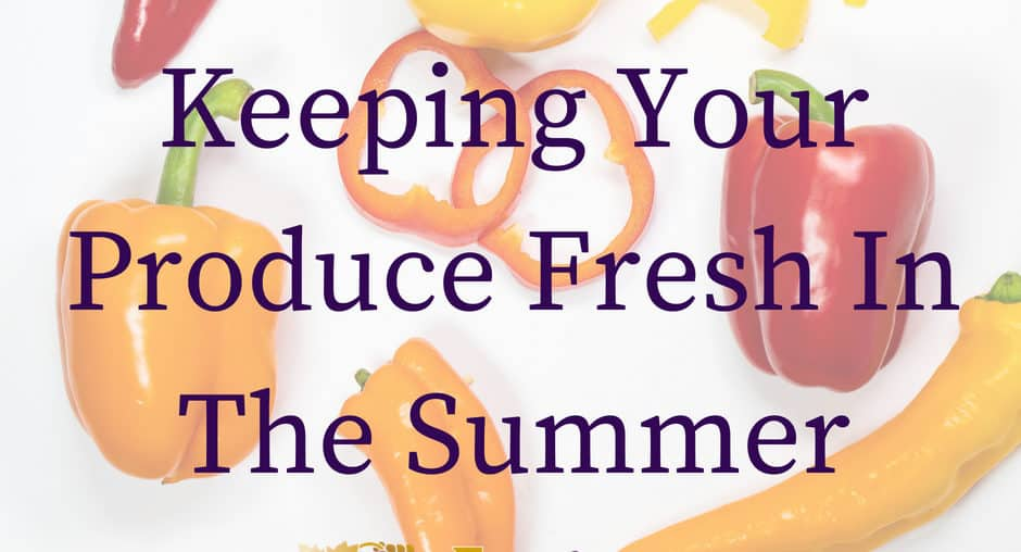 Keep Your Fruits And Vegetables Fresh During The Summer